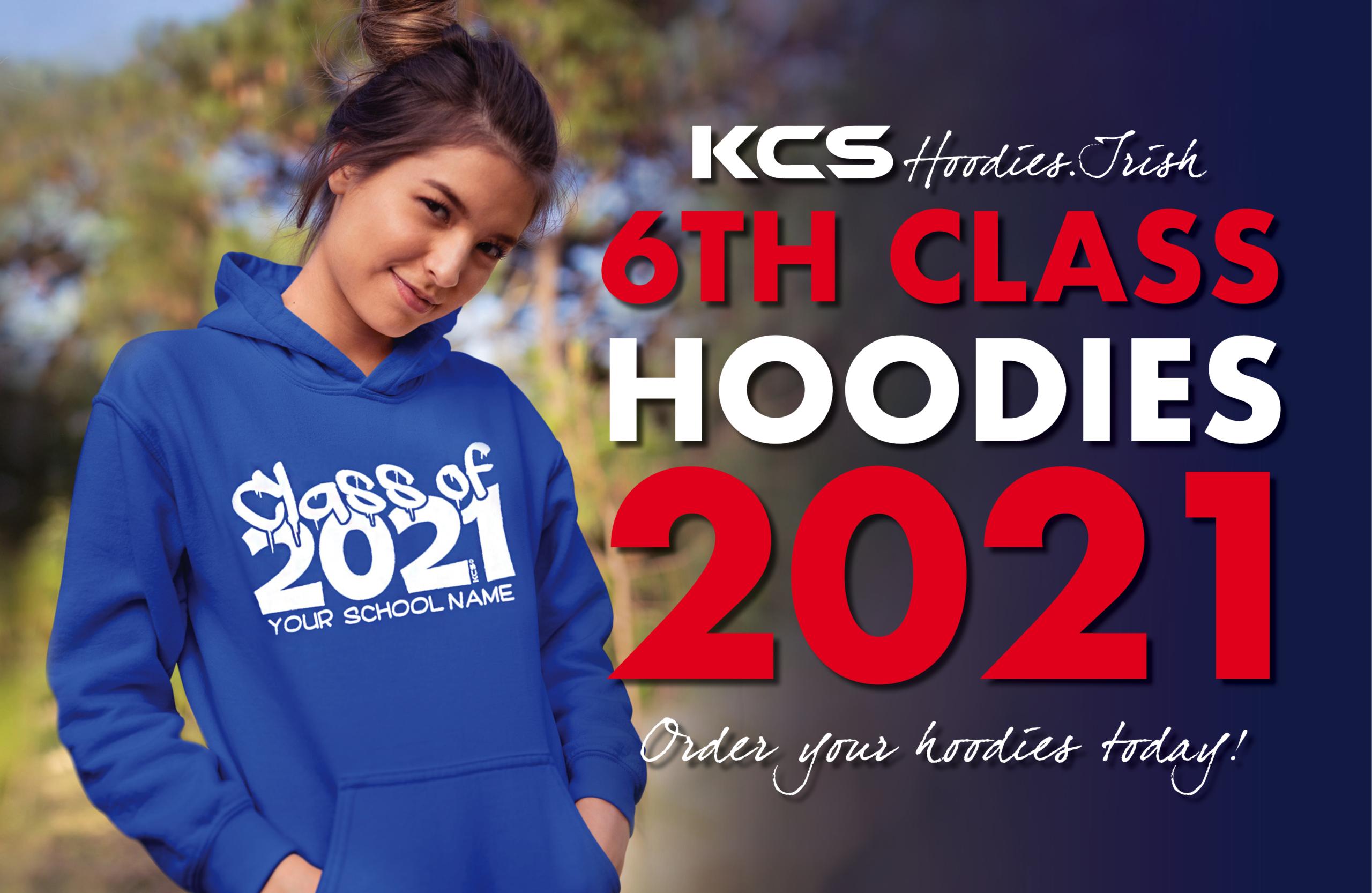 6th class hoodies